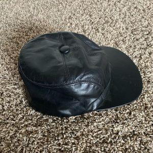 Kangol Leather Baseball Hat